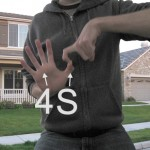 Residents are advised to steer clear of anyone flashing the 4S gang sign.