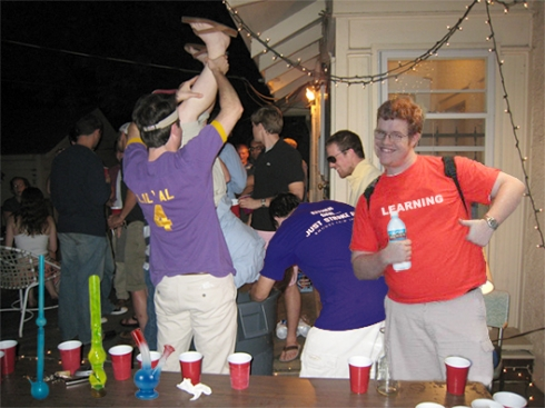 UCSD Student Attends SDSU Frat Party, Sticks Out Like A Sore Thumb